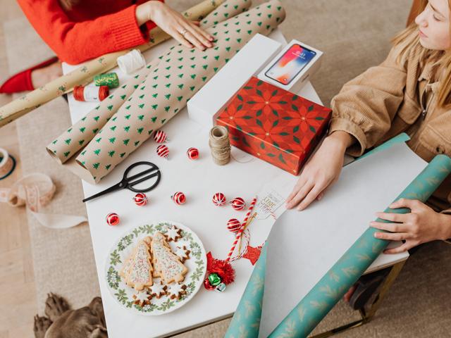 Salt dough Christmas gift tags – provo craft and novelty